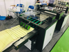 Stitching and Folding Machine With Three Sides Cutter