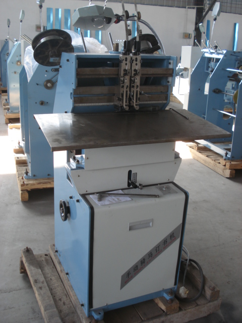 Wire Saddle Stitching Machine For Book Binding