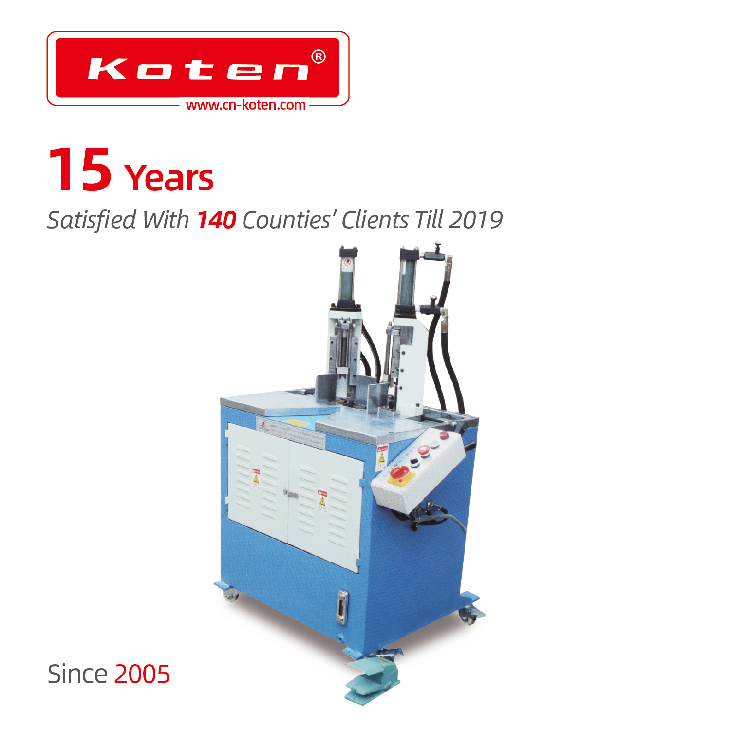 Double Sides Round Corner Cutter Machine